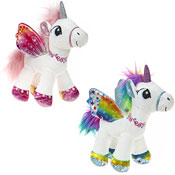 22cm Standing Unicorn Soft Toy