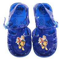 Official Boys Paw Patrol Jelly Sandals