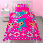 Shimmer & Shine Zahramay Reversible Duvet Single