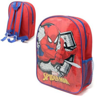 Official Spiderman Wall 31cm Junior Backpack