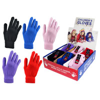 Childrens Assorted Magic Stretch Gloves