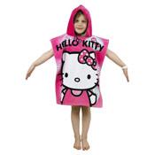 Kids Hello Kitty Towel Poncho