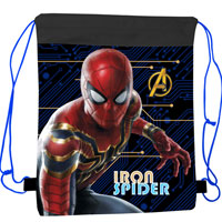 Official Spiderman 'Iron Spider' Pull String Bag