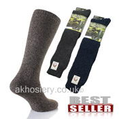 Mens Wellington Boot Socks Welly