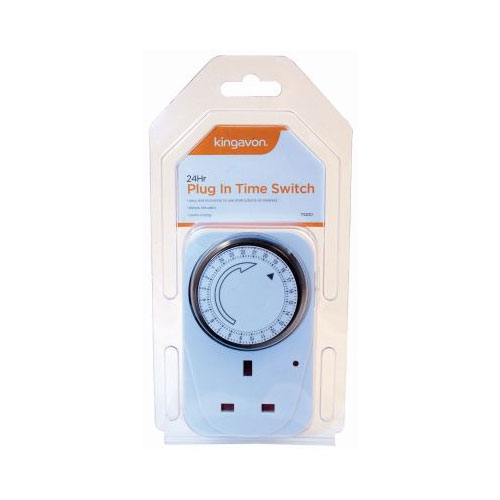 24 Hours Plug In Time Switch