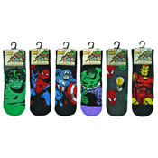 Mens Marvel Comics Socks