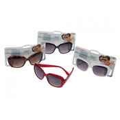 Ladies Heart Detail Fashion Sunglasses