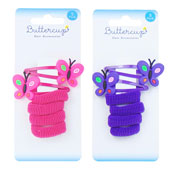 Girls Butterfly Hair Accessories