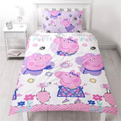 Peppa Pig Single Reversible Duvet Set
