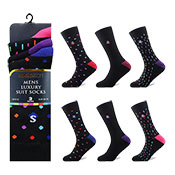 Socksation Mens Luxury Suit Socks Spots