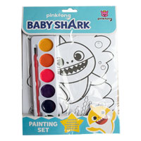 Official Baby Shark Painting Set