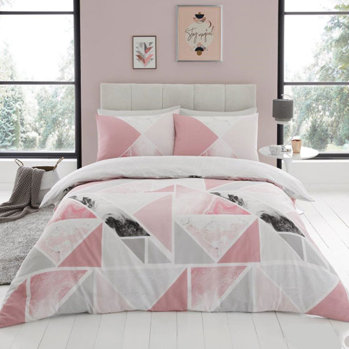 Mila Pink Luxury Duvet Set
