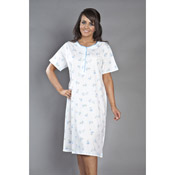 Short Sleeve Nightie Square Neck