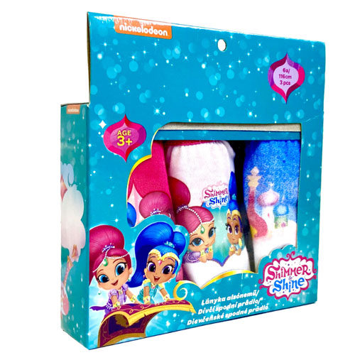 Official Girls Shimmer & Shine Character Briefs