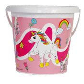 Unicorn Bucket 17CM