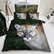 Puma Wild Cat Reversible Duvet Set