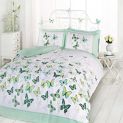 Flutter Green Duvet Set