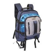 JCB Heavy Duty Full Strap Backpack Navy