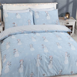 Snowman Christmas Duvet Set