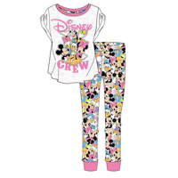 Ladies Official Minnie And Friends Pyjamas
