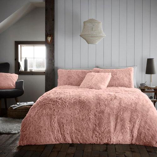 Hug And Snug Duvet Set Pink