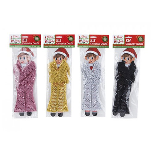 Elf Celebrity Dress Up Outfit Assorted