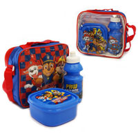 Official Paw Patrol 3 Piece Lunch Bag Set