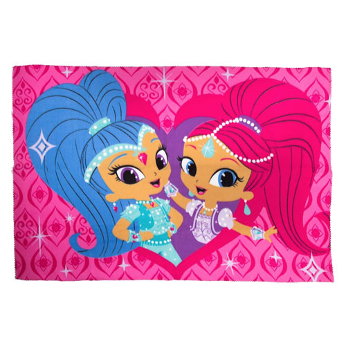 Shimmer & Shine Zahramay Childrens Character Fleece Blanket Throw