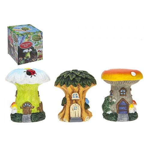 Secret Fairy Garden Tree And Mushroom Houses