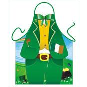 Novelty Apron Irish Suit