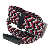 Stretchy Belts Red & White
