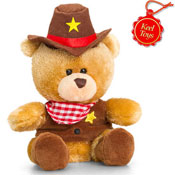 Pipp The Bear Cowboy Soft Toy 14CM
