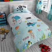Childrens Under The Sea Rotary Duvet Set