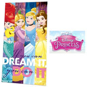 Disney Princess Dream It Beach Towel