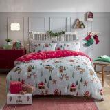 Scandi Scene Flannel Fleece Duvet Set