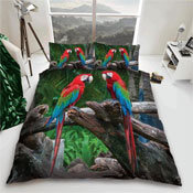 Parrot Reversible Duvet Set