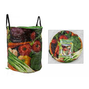 Garden Print Design Jumbo Pop Up Bag
