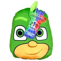 Official PJ Masks Gecko Green Shaped Cushion
