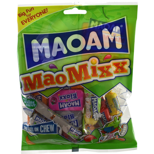 Haribo Maoam MaoMixx Chewy Sweets 140g Bag