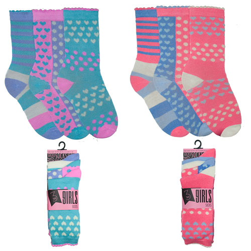 Girls Fancy Ankle Socks