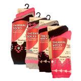 Ladies 3 Pack Thermal Socks Aztec
