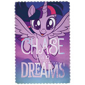Official My Little Pony Adventure Character Fleece Blanket Throw