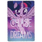 Official My Little Pony Adventure Character Fleece Blanket Throw