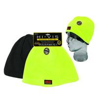 Heat Machine Hi Vis Fleece Reversible Beanie Hat