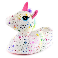 Ladies Star Unicorn Slippers