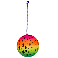Rainbow Stars Ball And Keychain