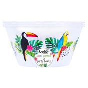Aloha Design Plastic Party Bowl