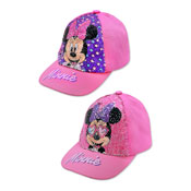 Official Childrens Minnie Mouse Sequin Baseball Cap