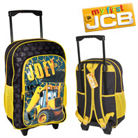 Official Joey JCB Deluxe Trolley Backpack Black