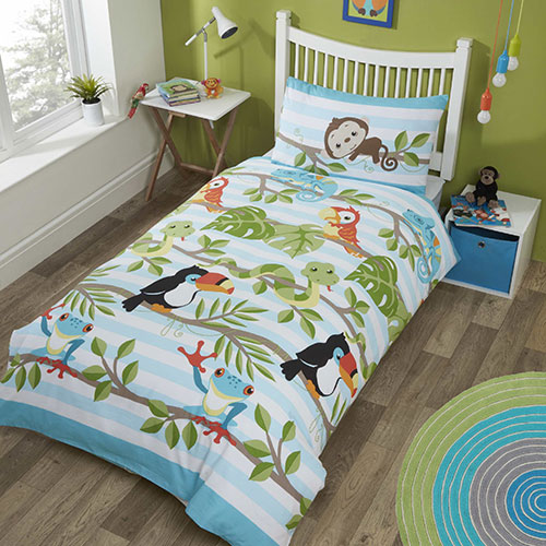 Studio Kids Reversible Duvet Set - Rainforest
